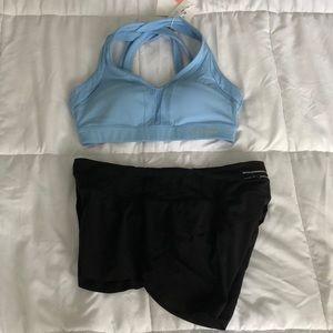 Speed shorts and bra set
